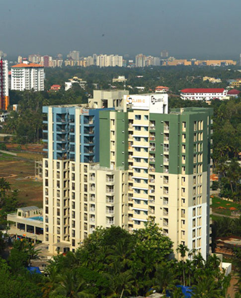 Builders and developers in Kerala